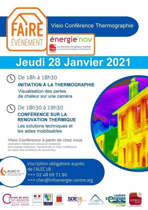 Visio conférence balade thermographique